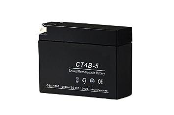 amazon 液入バッテリー ct4b 5 gt4b 5 yt4b 5 yt4b bs互換 バイク