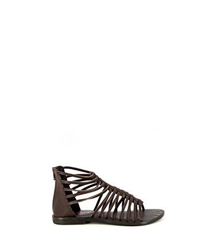 PERCENT - Sandalias de vestir para mujer marrón