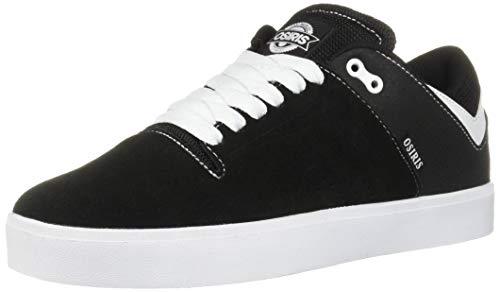 Osiris Men's Techniq VLC Skate Shoe White/Black, 10.5 M US