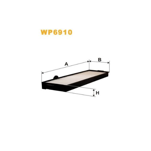 Wix Filters WP6910 Cabin Air Filter: