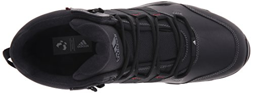 Adidas exterior Cw Ax2 Beta mediana Botas de excursionismo, Negro / Gris Vista / eléctrico rojo, 6 Black/Vista Grey/Power Red