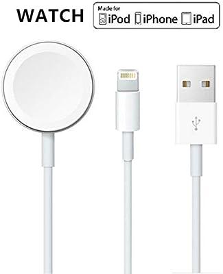 Cable magnético actualizado del cargador de reloj de la versión 2019 para iWatch 54321, cable de carga inalámbrico 2 en 1 competitivo con Apple