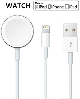 Cable magnético actualizado del cargador de reloj de la versión 2019 para iWatch 5/4/3/2/1, cable de carga inalámbrico 2 en 1 competitivo con Apple ...