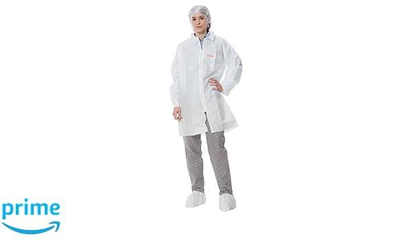 3M Bata de laboratorio blanca talla XXL 4432+: Amazon.es: Industria, empresas y ciencia