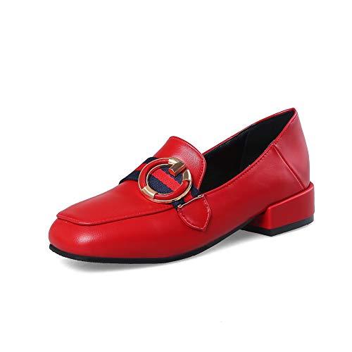 Rosso Zeppa con Donna BalaMasa Sandali APL10675 35 Red qXFtB