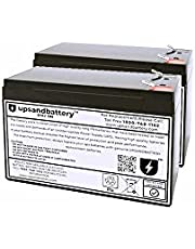Cyber Power UPS Model BRG1500AVRLCD Compatible - High-Rate Discharge Series Replacement Battery Backup Set - UPSANDBATTERY™