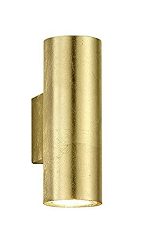 Trio Lighting Cleo Aplique GU10, 35 W, Dorado, 10 x 6 x 16.5 cm