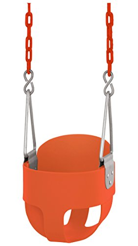 back bucket toddler swing