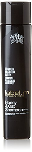 Label.m Honey and Oat Shampoo For Dry / Dehydrated Hair 10.1 Oz (300 ml)