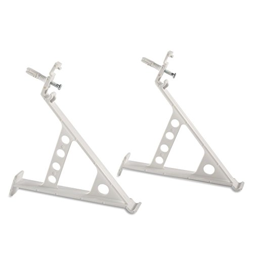 Rubbermaid Non Adjustable Hardware Brackets FG3F58LWWHT product image