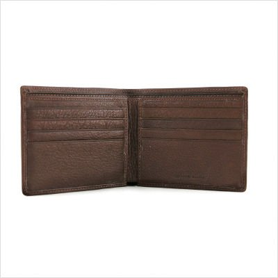 Cashmere Men's Thinfold Wallet Color: Black ()