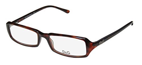 Dolce Gabbana 1113 Womens/Ladies Designer Full-rim Spring Hinges Eyeglasses/Spectacles (53-17-135, - Dolce Tortoise Gabbana Glasses And