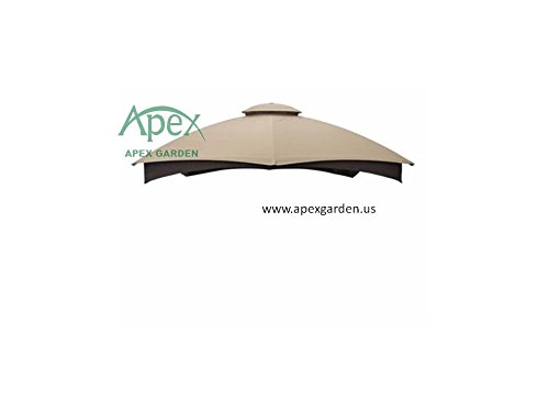 allen-roth-gazebo-beige-replacement-canopy-top-model-gf-12s004bto