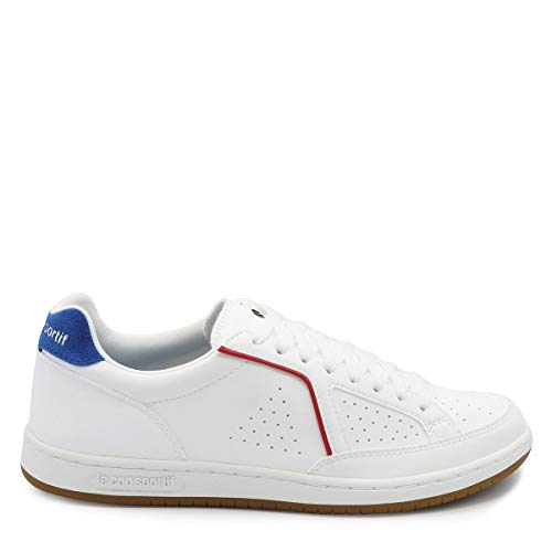 Le Classic COQ Mujer para Zapatillas White Sportif Icons Blanco Optical Sport Blue TTrqwY