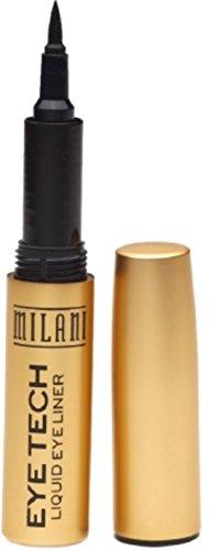 Milani Eye Tech Liquid Eyeliner, Black [01], 0.015 oz (Pack of 10)