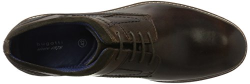 Brown Marrone Dark Dark Brown Bugatti 311300021014 Scarpe Stringate Uomo wvx118IqR