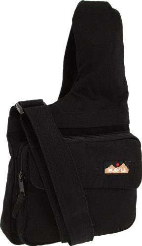 KAVU Seattle Sling, Black, Medium, Outdoor Stuffs
