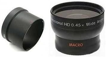 TelePhoto Lens Super Wide Lens Tube Adapter Bundle for Canon Powershot G15