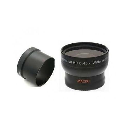 0.45x WCE75A WCE75 Wide-Angle Converter + URE22 Tube for Nikon P-7000, Nikon P-7100
