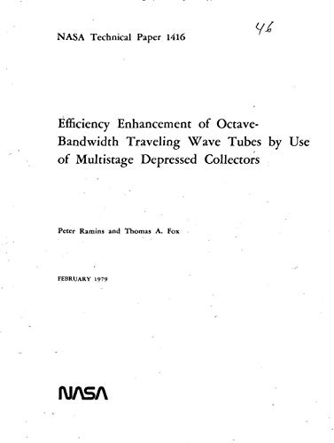 - Efficiency enhancement of octave-bandwidth traveling wave tubes by use of multistage depressed collectors