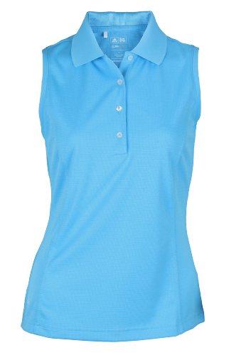 d948eff44e0d8 Adidas Taylormade Womens Climalite Sleeveless Solid Polo Shirt (Medium (4)
