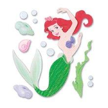 Disney Princess 3-D Stickers - Ariel w/ Bubbles ()