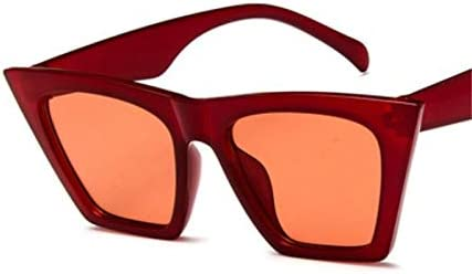 ZJIEJ Lunettes de Soleil Sunglasses Square GlassesPersonalized Eyes Colorful Sunglasses Trend Versatile Sunglasses Uv400