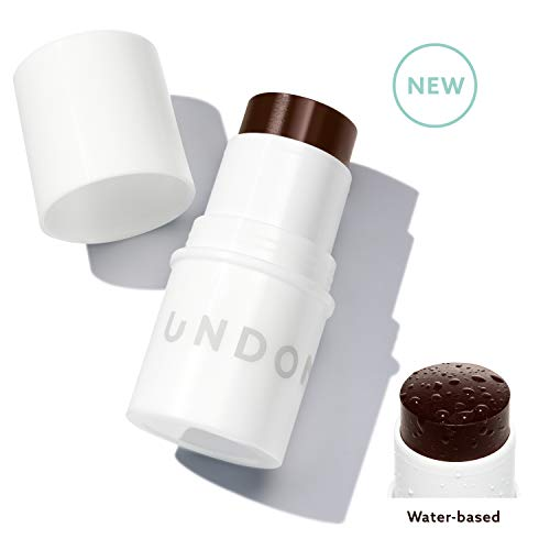 Water Bronzer Stick. Blends perfectly into skin - UNDONE BEAUTY Water Bronzer. Most natural looking tan - No Streaks, Lines, Mistakes. Coconut for Radiant, Dewy Glow. Vegan & Cruelty Free. BAKED