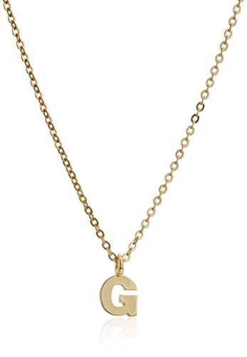 1928 Jewelry Gold Tone Initial Necklace product image