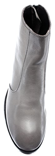 Piel r1 Gris Vintage Italy Zapatos Made Mujer Moma Pelle 88703 In Botines xwqg01Y