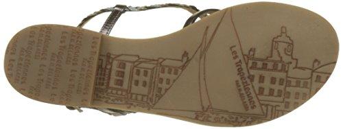 Les Tropéziennes par M. Belarbi Women's Monatres Sling Back Sandals Grey (Etain 261) VL1MoHRT