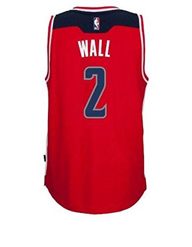 Adidas Wall Swingman Wizards Jersey RED/ROAD XXL