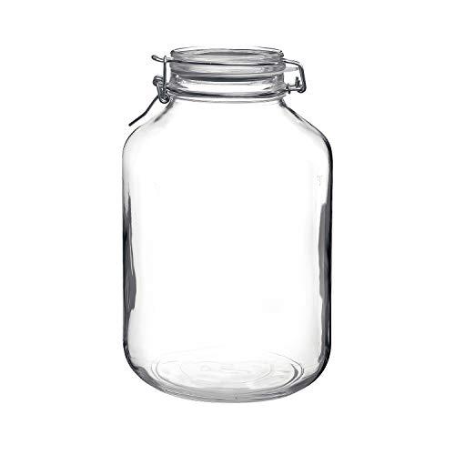Bormioli Rocco Fido Clear Jar, 169 Oz. ()
