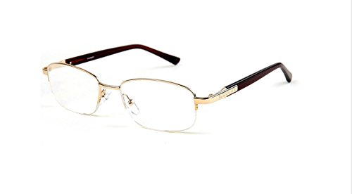 New Real Glass Reading Glasses Stainless Steel Designer Acetate Frame, +1.0, +1.50, +2.0,+2.50, +3.0, +3.50 - Glasses With Glass Real Reading Lenses
