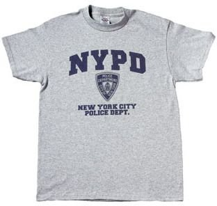 Nypd Physical Training T-shirt - BigBoyMusic NYPD Physical Training - Law Enforcement Gear - Heather grey T-shirt - size XXL