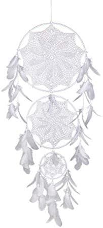 ALIKEE Three Circle Lace Dream Catcher Wedding Decoration Handmade Handmade Wall Decoration