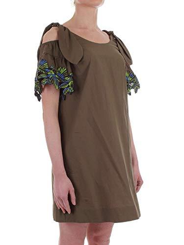Vestido 1b131w5036x18 Mujer Pinko Algodon Verde w8OYIg