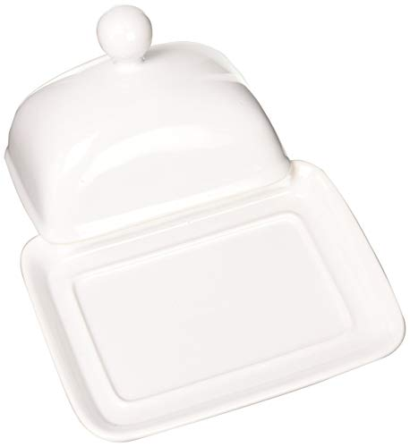 Home Essentials HOME ESSENTIALS Covered Butter Dish, -