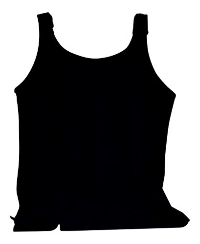 able Tank Top by Tender Tanks, Small, Black (Mastectomy Camisole)