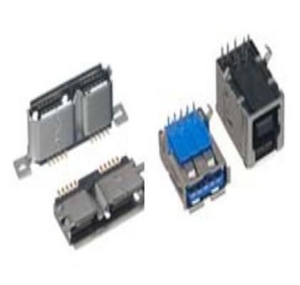 USB Connectors MICRO USB 3.0,TYPE B VERT SMT T//R 100 pieces