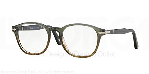 Persol Montures de lunettes 3122 V - 1012  Dark Grey Gradient Green-Brown 205eb4ba452e