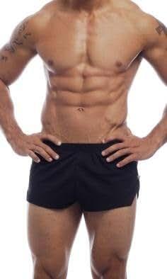 Go Softwear AJ Mesh Running Shorts - Black (Small)