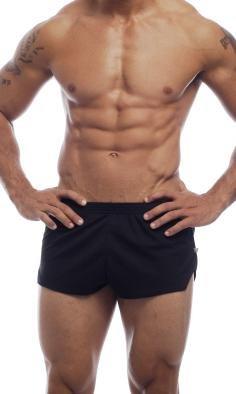 0baee78a3fe0 Amazon.com: Go Softwear AJ Mesh Running Shorts - Black: Clothing