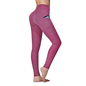 Vimbloom Leggings de Sport Femmes Pantalon de Yoga avec Poches Yoga Fitness Gym Taille Haute Leggings VI263
