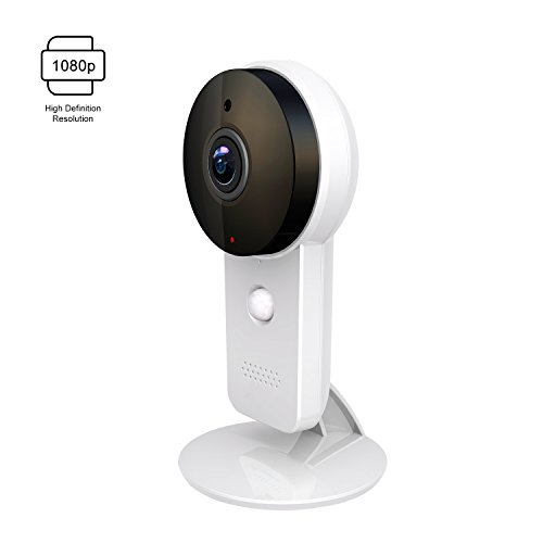 1080p Home Camera, Indoor Wireless IP Security Surveillance System with Night Vision for Home/Office/Baby/Pet Monitor with iOS, Android App