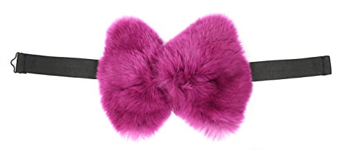 bryan-boy-for-adrienne-landau-magenta-rex-fur-bow-tie