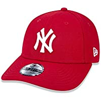 BONE 940 NEW YORK YANKEES MLB ABA CURVA VERMELHO NEW ERA