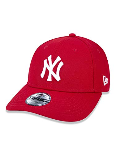 BONE 940 NEW YORK YANKEES MLB ABA CURVA VERMELHO NEW ERA 2400a68d480