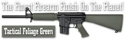 DuraCoat Firearm Finish - 4 oz Bottle with Hardener (T15 - Tactical Foliage (Foliage Green Paint)