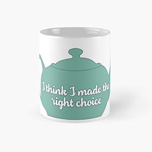 (Jim and Pam Teapot Mug, the office Funny Mugs, 11 Ounce Ceramic Mug, Perfect Novelty Gift Mug, Tea Cups, Funny Coffee Mug 11oz, Tea)